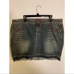 Torrid Denim Pencil Skirt